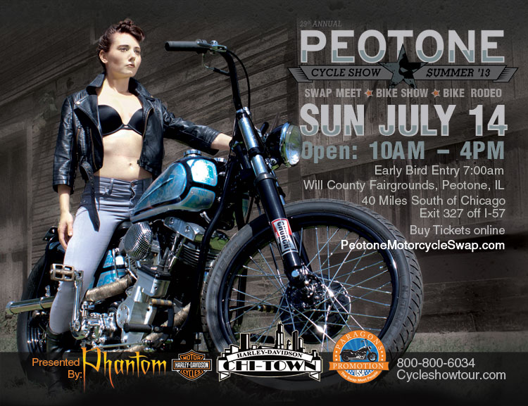 Summer Peotone motorcyclde Show Sunday July 14 2013