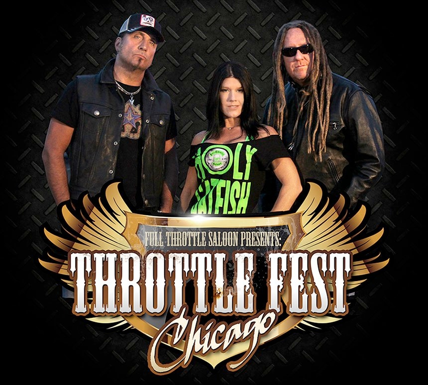 Throttle Fest Chicago June 19-22, 2014, Presented by Full Throttle Saloon